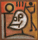 Death and Fire 1940 By Paul Klee