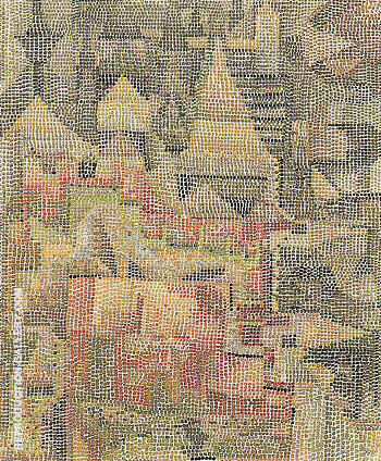 Castle Garden 1931 By Paul Klee - Oil Paintings & Art Reproductions - Reproduction Gallery