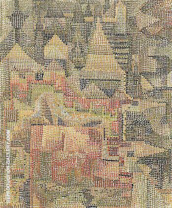 Castle Garden 1931 By Paul Klee