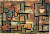 Room with Northern Exposure 1932 By Paul Klee