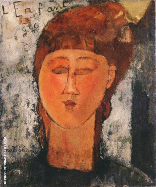 The Fat Child L'Enfant Gras 1915 By Amedeo Modigliani
