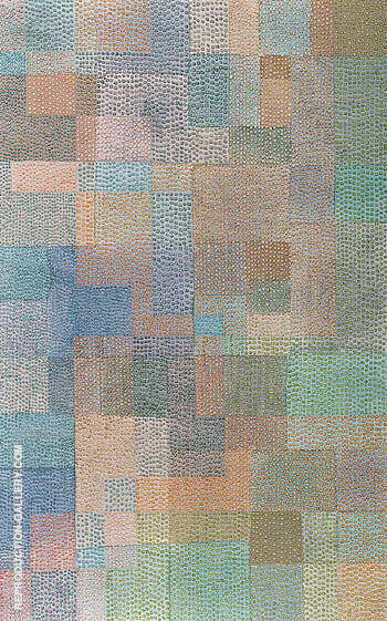 Polyphony 1932 By Paul Klee