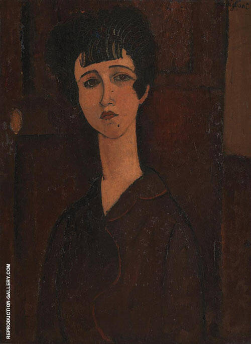 Portrait of a Young Woman Victoria 1916 By Amedeo Modigliani