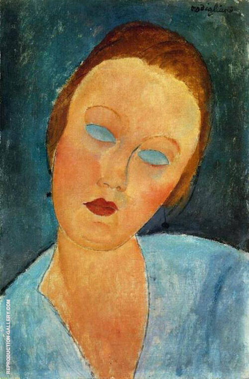 Portrait of Madame Survage By Amedeo Modigliani