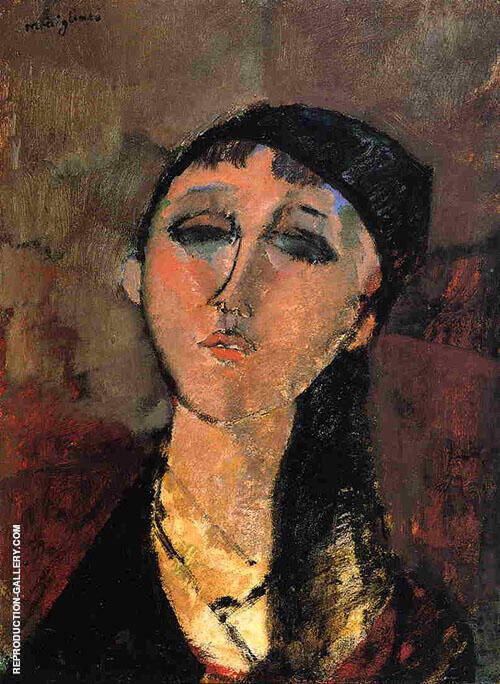 Louise 1915 By Amedeo Modigliani