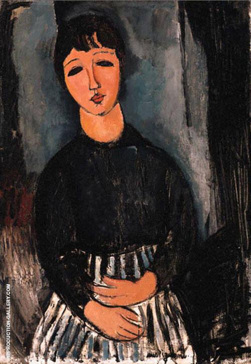 The Servant 1916 By Amedeo Modigliani