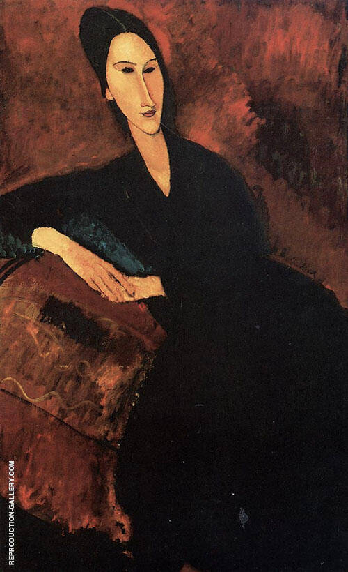 Anna Zborowska By Amedeo Modigliani Replica Paintings on Canvas - Reproduction Gallery
