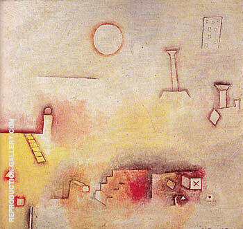Reproduction of Reconstruction 1926 by Paul Klee | Oil Painting Replica On CanvasReproduction Gallery