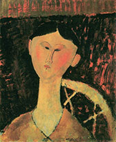 Portrait of Beatrice Hastings 1915 By Amedeo Modigliani