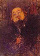 Portrait of Diego Rivera c1914 By Amedeo Modigliani