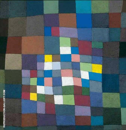 Blossoming 1934 By Paul Klee Replica Paintings on Canvas - Reproduction Gallery