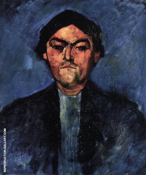 Portrait of The Typographer Pedro 1909 By Amedeo Modigliani