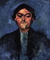 Portrait of The Typographer Pedro 1909 By Amedeo Modigliani