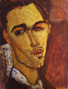 Portrait of the Spanish Painter Celso Lagar 1915 By Amedeo Modigliani