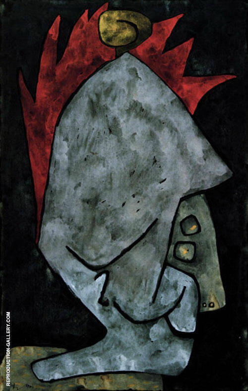Mephisto as Pallas 1939 By Paul Klee Replica Paintings on Canvas - Reproduction Gallery