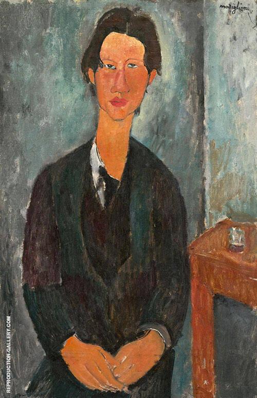 Portrait of Chaim Soutine 1916 By Amedeo Modigliani