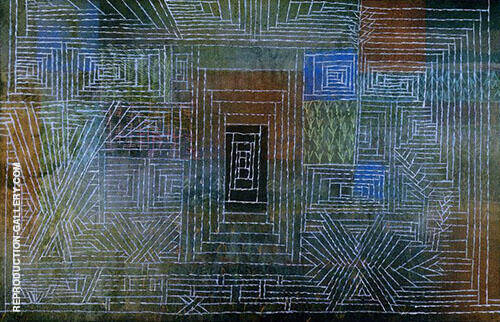 Castle to be Built in the Forest 1926 By Paul Klee