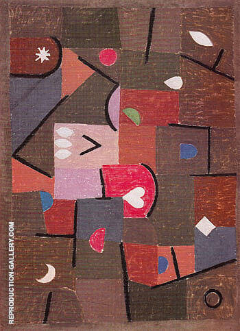 Jewels 1937 By Paul Klee - Oil Paintings & Art Reproductions - Reproduction Gallery