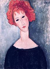 Redhead By Amedeo Modigliani