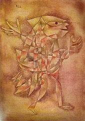Little Jester in a Trance 1929 By Paul Klee