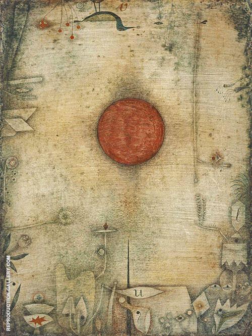 Ad Marginem 1930 By Paul Klee