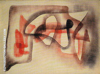 Three Subjects Polyphony 1931 By Paul Klee - Oil Paintings & Art Reproductions - Reproduction Gallery