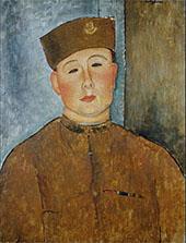 The Zouave 1918 By Amedeo Modigliani