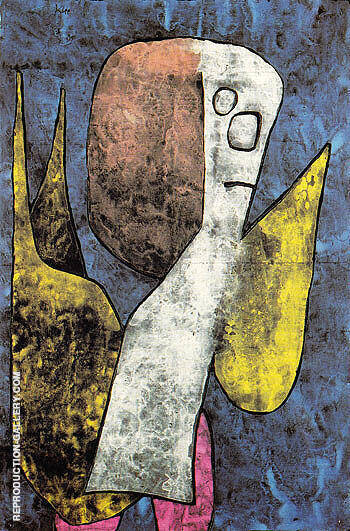 Poor Angel 1939 By Paul Klee Replica Paintings on Canvas - Reproduction Gallery