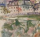 Houses near Stony Ground 1913 By Paul Klee