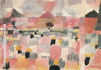 Saint Germain near Tunis 1914 Painting By Paul Klee - Reproduction Gallery