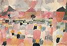 Saint Germain near Tunis 1914 By Paul Klee