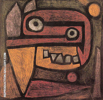 Untitled 1940 By Paul Klee Replica Paintings on Canvas - Reproduction Gallery