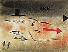 Seventeen 1923 By Paul Klee