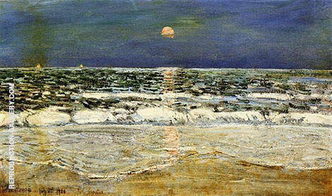 East Hampton By Childe Hassam - Oil Paintings & Art Reproductions - Reproduction Gallery