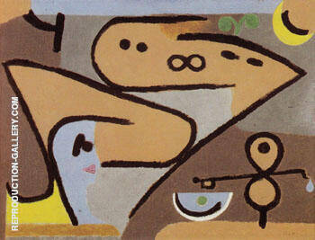 Aeolian 1938 By Paul Klee - Oil Paintings & Art Reproductions - Reproduction Gallery
