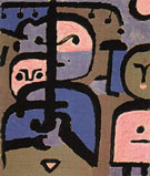 Three Exotic Youths 1938 By Paul Klee