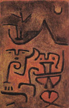 Earth Witches 1938 By Paul Klee