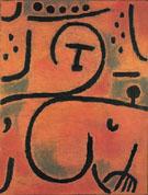 Decadent Pomona Slighty Reclined 1938 By Paul Klee