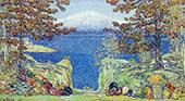 California 1919 By Childe Hassam