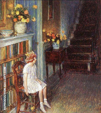 Clarissa 1912 Painting By Childe Hassam - Reproduction Gallery