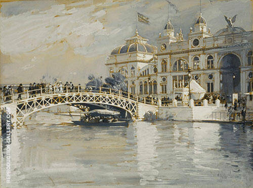Columbian Exposition Chicago By Childe Hassam