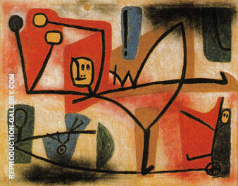 Exuberance 1939 Painting By Paul Klee - Reproduction Gallery