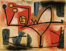 Exuberance 1939 By Paul Klee