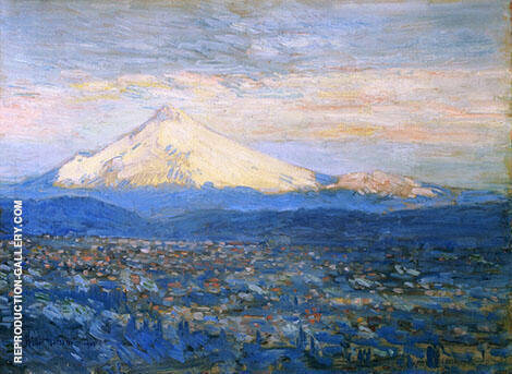 Mount Hood By Childe Hassam