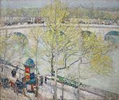 Pont Royal Paris By Childe Hassam
