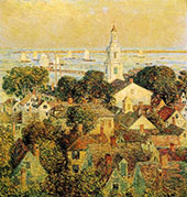 Provincetown 1900 By Childe Hassam