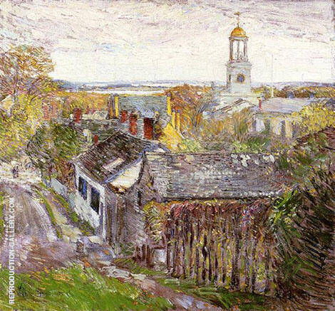 Quincy Massachusetts 1892 By Childe Hassam