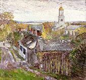 Quincy Massachusetts 1892 By Childe Hassam