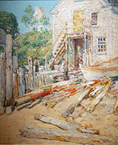 Riggers Shop at Provincetown By Childe Hassam