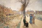 The Public Garden Boston Common c1885 By Childe Hassam